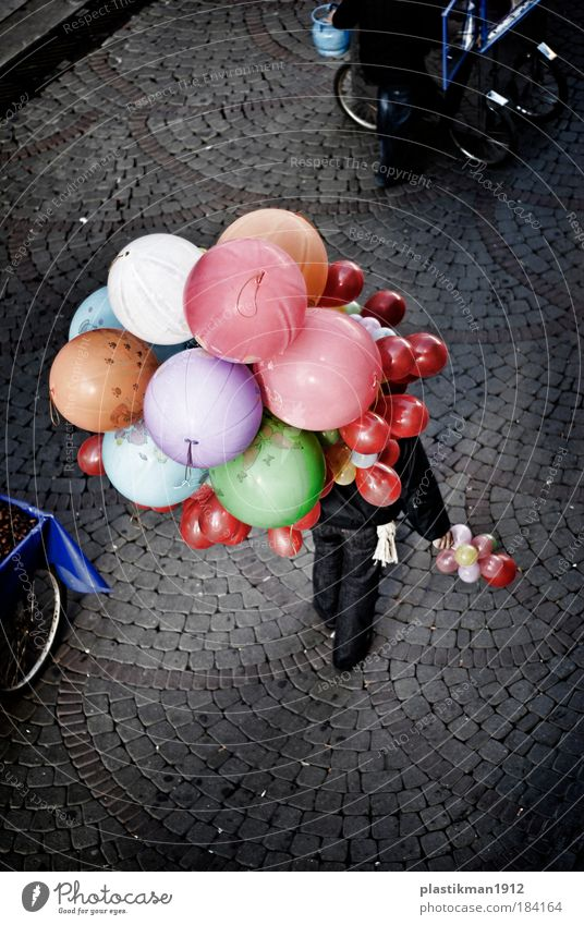 baloons Colour Relaxation Street Happy Infancy Balloon