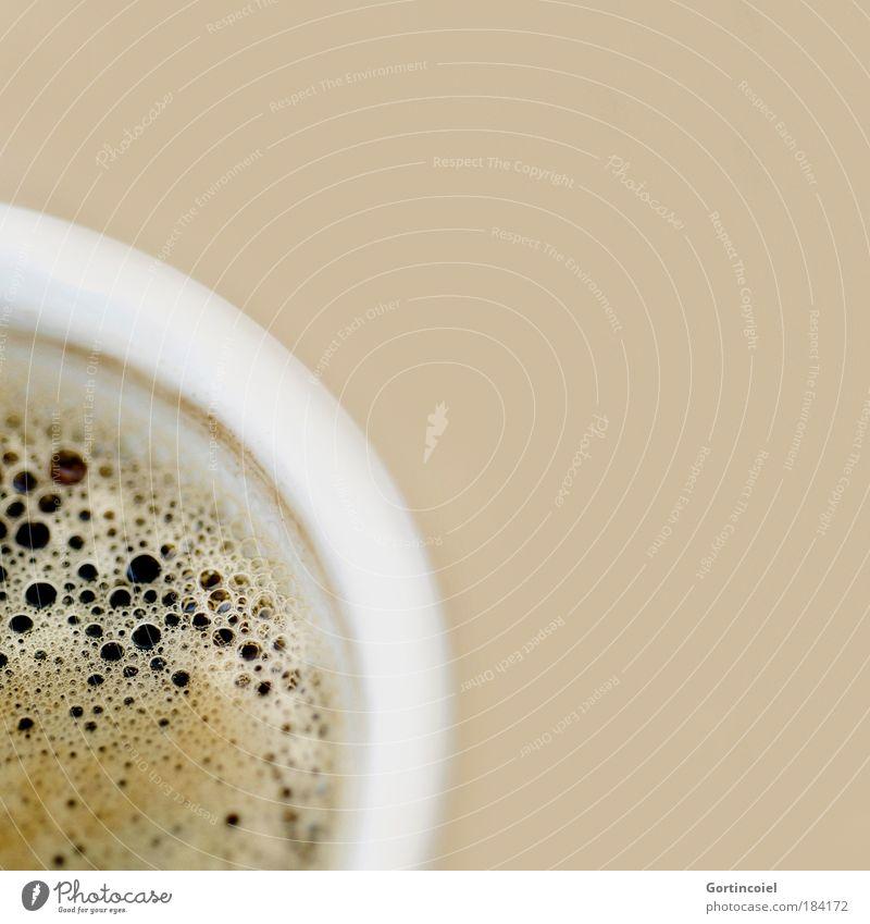 Food Fresh Beverage Coffee Hot Delicious Bubble Colour Cup Nutrition Beige Foam Espresso Coffee cup Coffee break Caffeine
