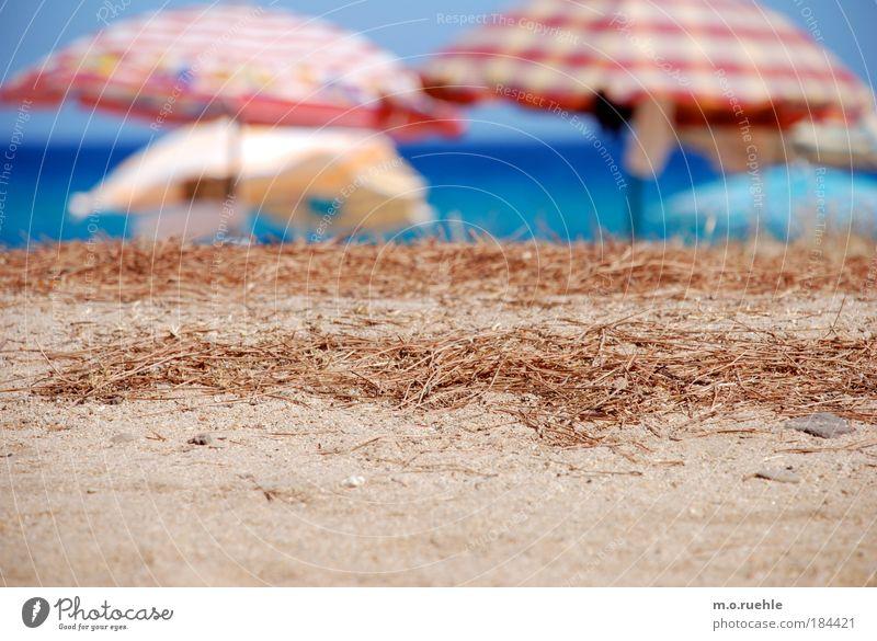 Water Ocean Blue Summer Beach Vacation & Travel Calm Far-off places Sand Warmth Air Island Tourism Serene Plastic Sunshade
