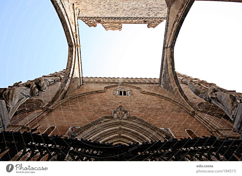 |Sicily|#2| Colour photo Interior shot Deserted Morning Worm's-eye view Central perspective Art Palermo Sicilian Europe Church Dome Bridge Building Architecture