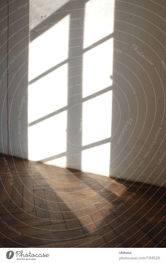 Calm Window Wood House (Residential Structure) Door Esthetic Simple Building Historic Redecorate Parquet floor Visual spectacle Sunbeam Dream house Herringbone Lattice window