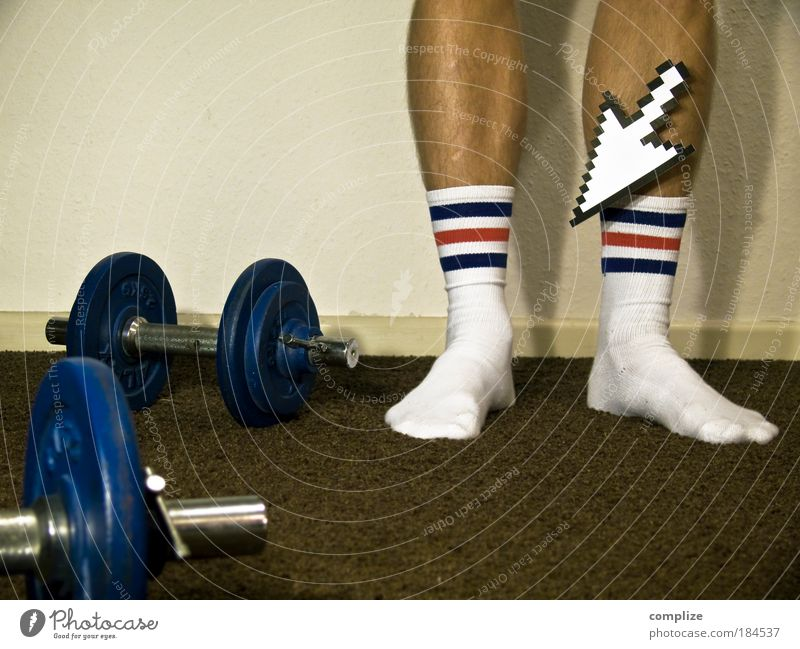 These Socks can change your Life Beautiful Room Sports Fitness Sports Training Sportsperson Weight-lifting Weight training Career Human being Masculine Man