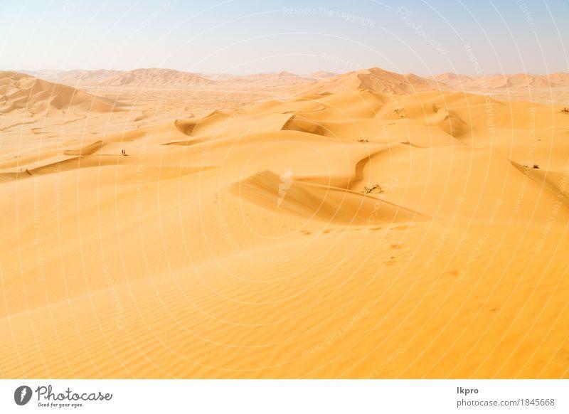 and outdoor sand dune in oman old desert rub al khali Beautiful Vacation & Travel Tourism Adventure Safari Summer Sun Nature Landscape Sand Sky Horizon Park