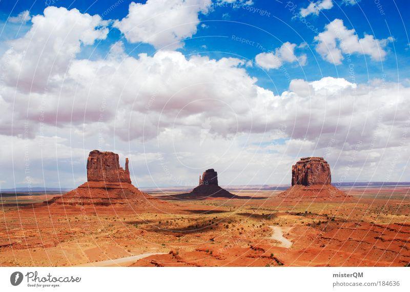 Nature Old Red Vacation & Travel Freedom Environment Landscape 3 Large Esthetic USA Desert Nationalities and ethnicity Americas Natural phenomenon Arizona