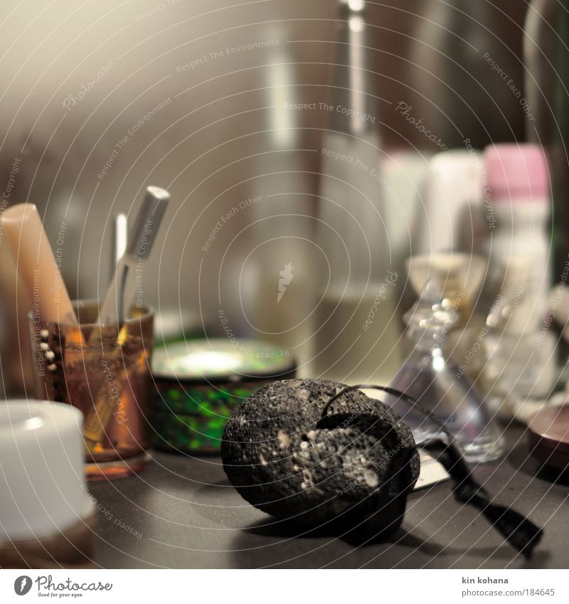 Beautiful Feminine Style Elegant Lifestyle Bathroom Mirror Cosmetics Make-up Personal hygiene Accessory Going out Perfume