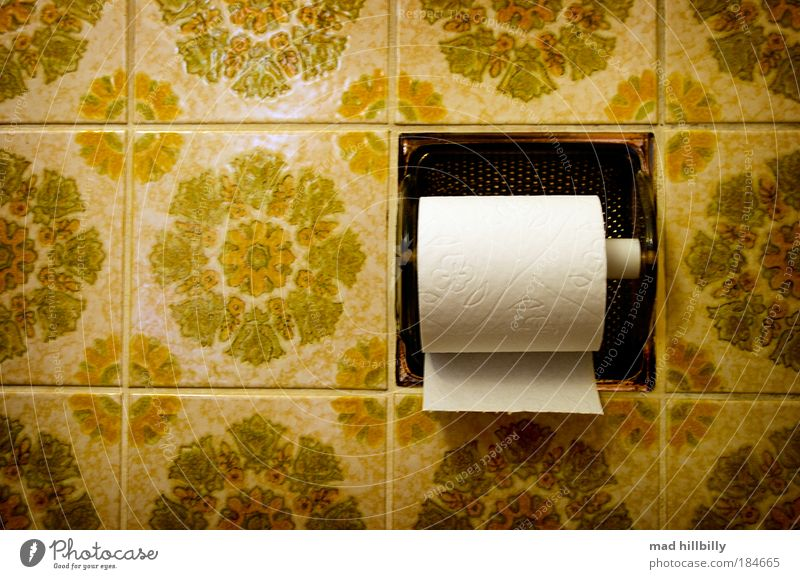 Want some? Style Profession Art Toilet paper Collector's item Stone Line Dream Old Elegant Friendliness Glittering Kitsch Retro Clean Trashy Yellow Green Black