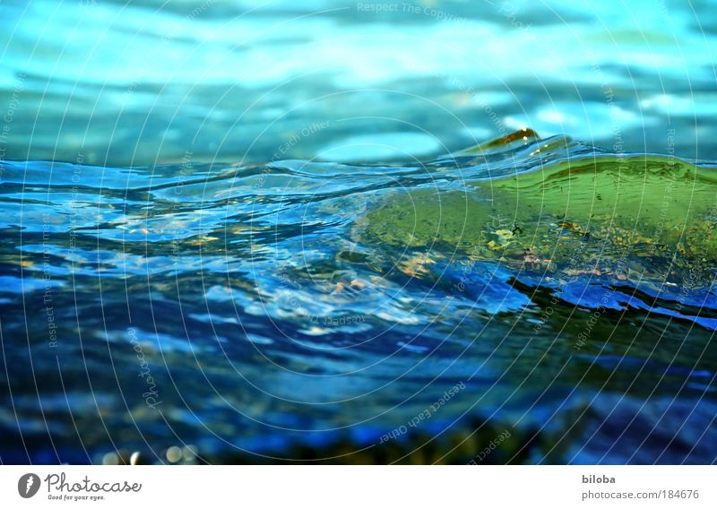 Nature Blue Water Green Beautiful Summer Environment Cold Autumn Coast Lake Bright Waves Background picture Wet Fresh