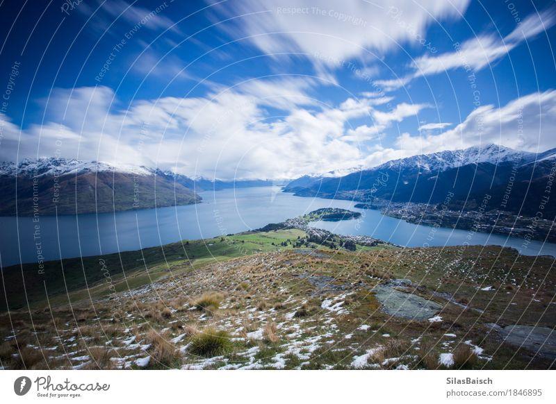 Laka Wakatipu Nature Vacation & Travel Plant Landscape Loneliness Mountain Environment Snow Lake Rock Trip Hiking Idyll Uniqueness Observe Adventure