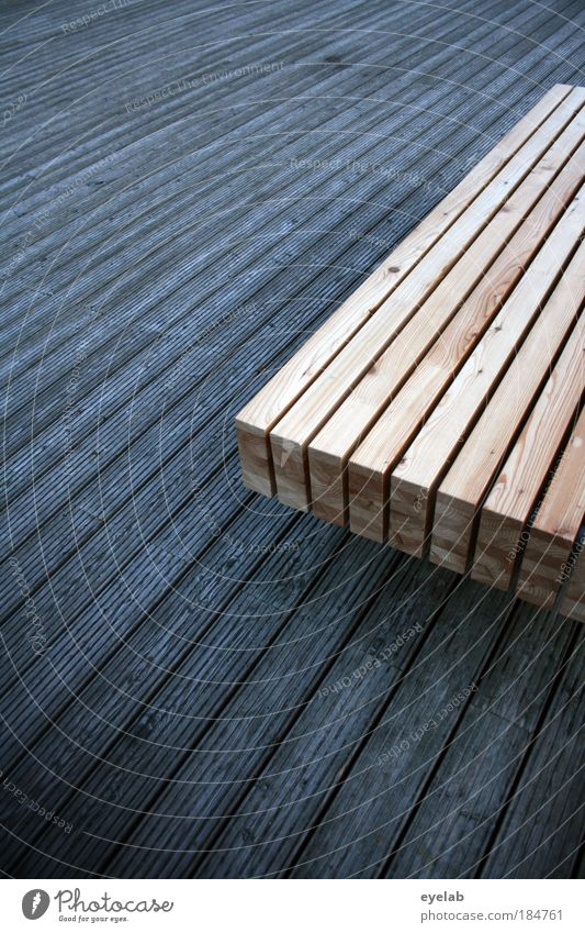 Shades in wood Colour photo Subdued colour Exterior shot Close-up Detail Abstract Pattern Deserted Copy Space left Copy Space right Copy Space top