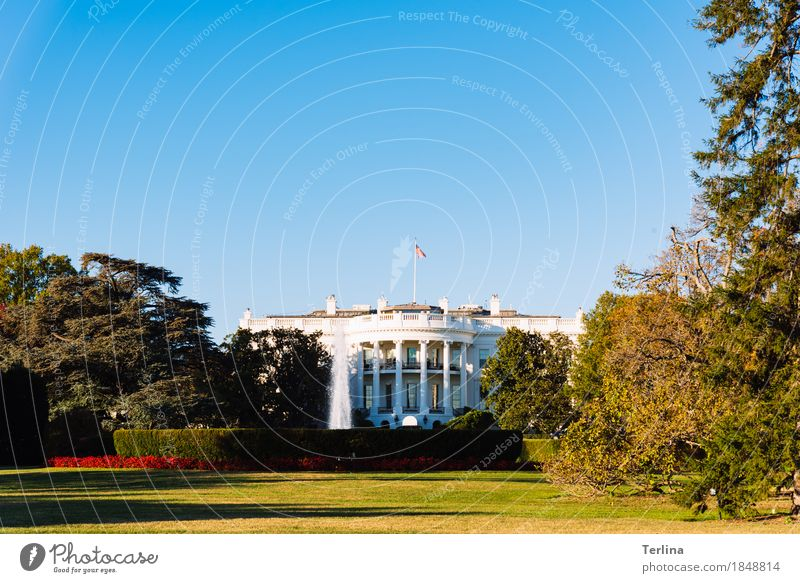 The White House Washington USA Tourist Attraction Looking Stand Aggression Authentic Exceptional Famousness Cool (slang) Gigantic Natural Clean Strong Emotions