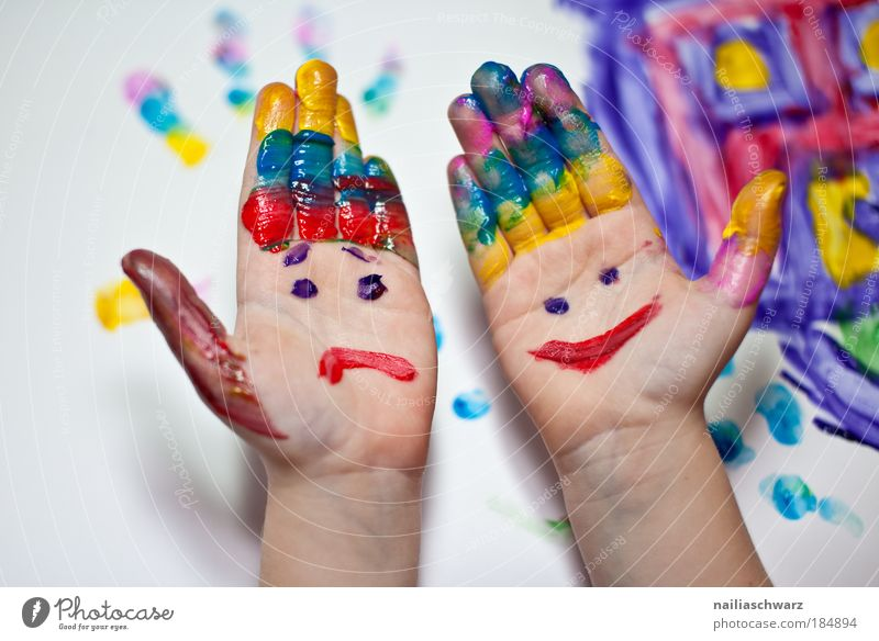 Multicoloured Human being Child Hand Green Blue Joy Yellow Playing Happy Action Arm Leisure and hobbies Fingers Esthetic Happiness