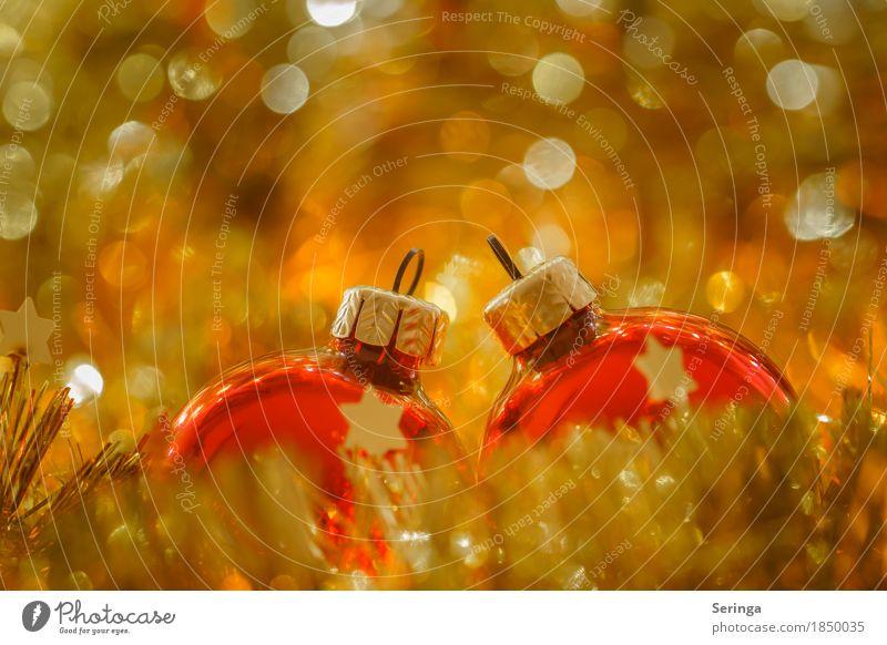 Christmas & Advent Anti-Christmas Feasts & Celebrations Metal Illuminate Glittering Decoration Glass Gold Candle Sphere Santa Claus Handicraft Crystal