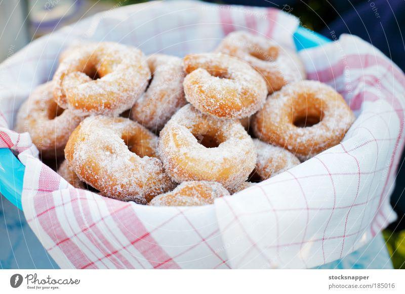 Donuts Food Bowl Sugar Basin Quiver Home-made