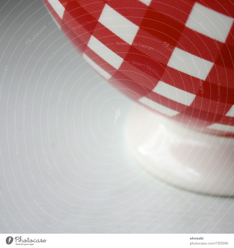 shell Food Yoghurt Dairy Products Grain Dessert Cereal Nutrition Hot Chocolate Coffee Crockery Bowl Red White To enjoy Porcelain Desert bowl Checkered