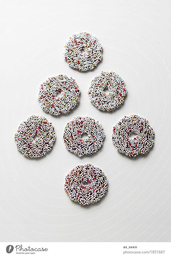 Christmas & Advent Colour Joy Lifestyle Food Brown Design Lie Nutrition Modern Esthetic Creativity Joie de vivre (Vitality) Circle Round Candy