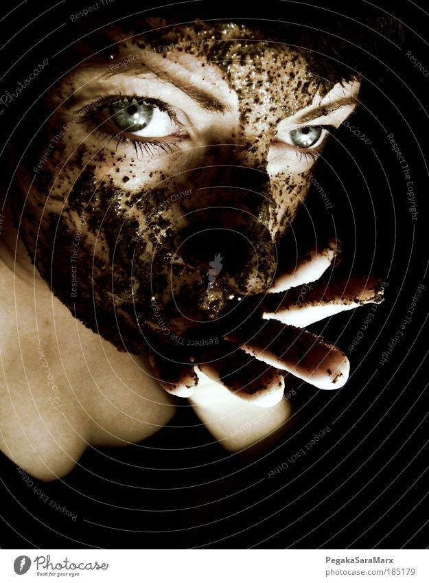 Human being Youth (Young adults) Hand Beautiful Black Face Adults Eyes Dark Feminine Head Portrait photograph Art Skin Exceptional Fresh