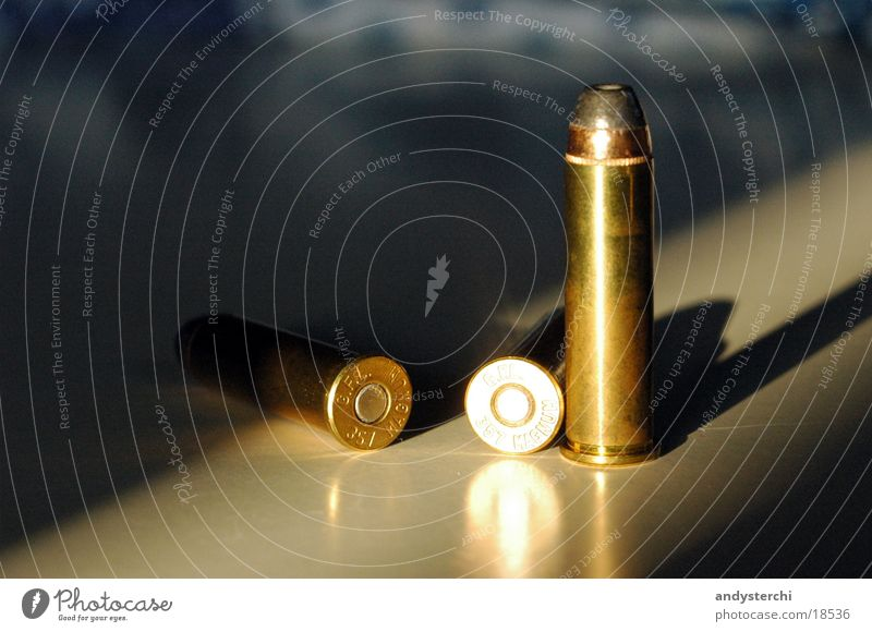 ammunition Image type and genre Weapon 3 Handgun Things Munitions Sphere 357 magnum Metal refection Shot