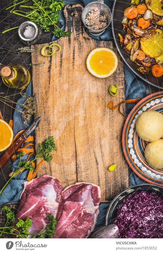 Food photograph Yellow Style Design Nutrition Orange Table Herbs and spices Kitchen Vegetable Organic produce Restaurant Tradition Crockery Meat