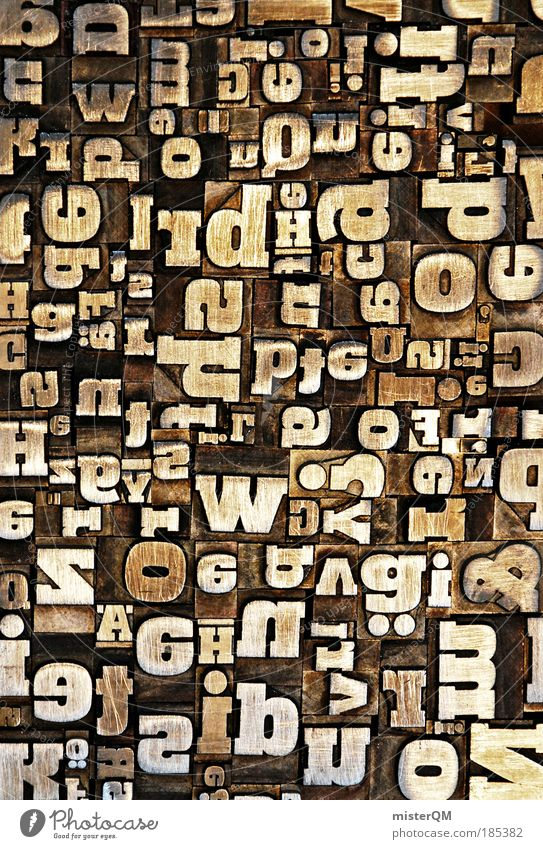 Macro (Extreme close-up) Abstract Experimental Media Style Print media Art Design Pattern Crazy Profession Letters (alphabet) Telecommunications Silhouette Many