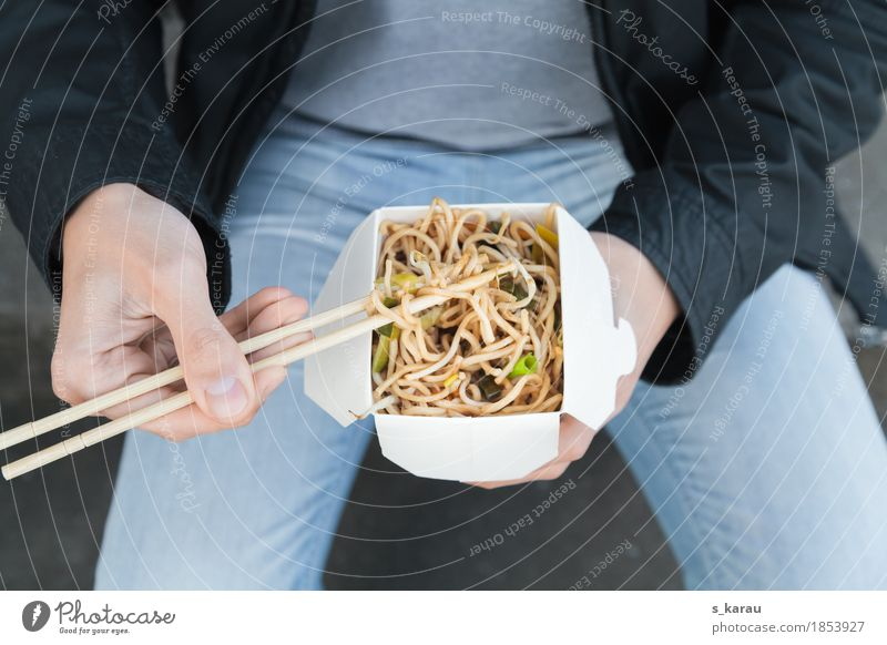 To go Food Vegetable Dough Baked goods Eating Lunch Vegetarian diet Fast food Asian Food Lifestyle Human being Masculine Man Adults Hand 1 18 - 30 years