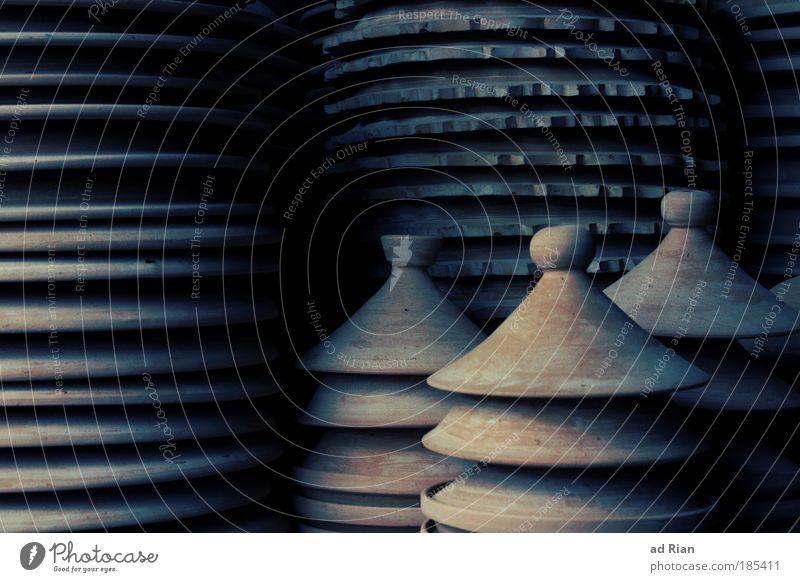 Dark Style Art Elegant Nutrition Round Kitchen Crockery Cup Craft (trade) Sculpture Craftsperson Bowl Pot Soup Clay