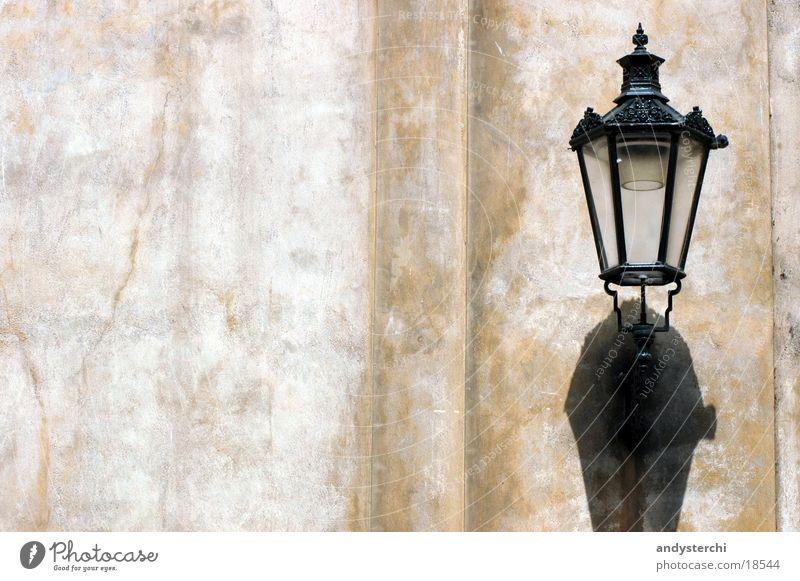 Lamp Wall (building) Wall (barrier) Lantern Historic