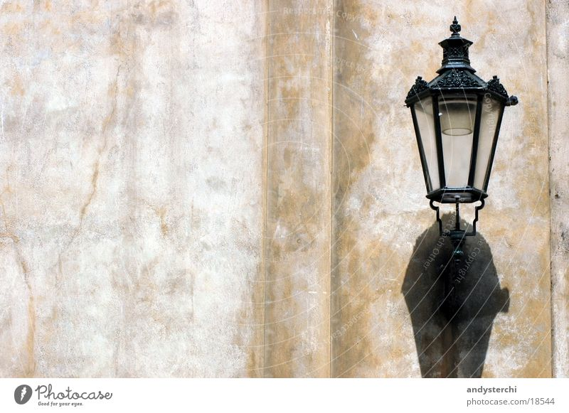 shadow Wall (building) Wall (barrier) Lantern Lamp Historic Shadow
