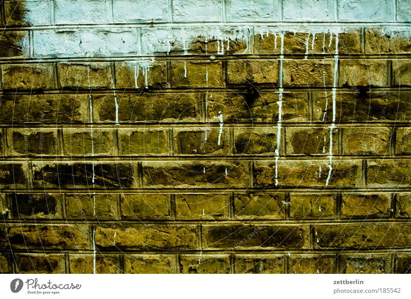 Old House (Residential Structure) Colour Wall (building) Dye Wall (barrier) Construction site Manmade structures Escape Redecorate Seam Copy Space Paintwork