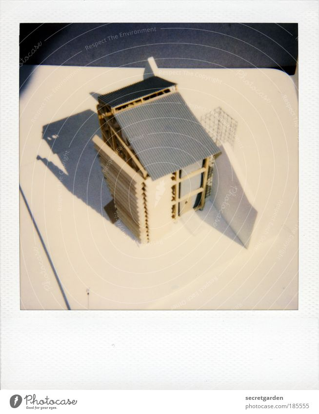 House (Residential Structure) Construction site White Wood Architecture Gray Style Building Art Bird's-eye view Planning Perspective Living or residing