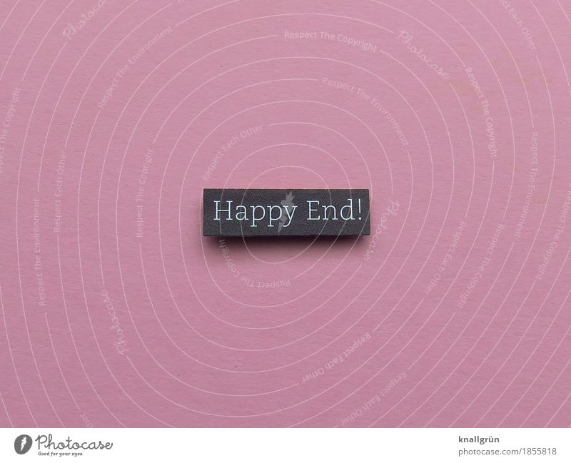 Happy ending! Characters Signs and labeling Communicate Sharp-edged Pink Black Emotions Joy Contentment Joie de vivre (Vitality) Enthusiasm Optimism