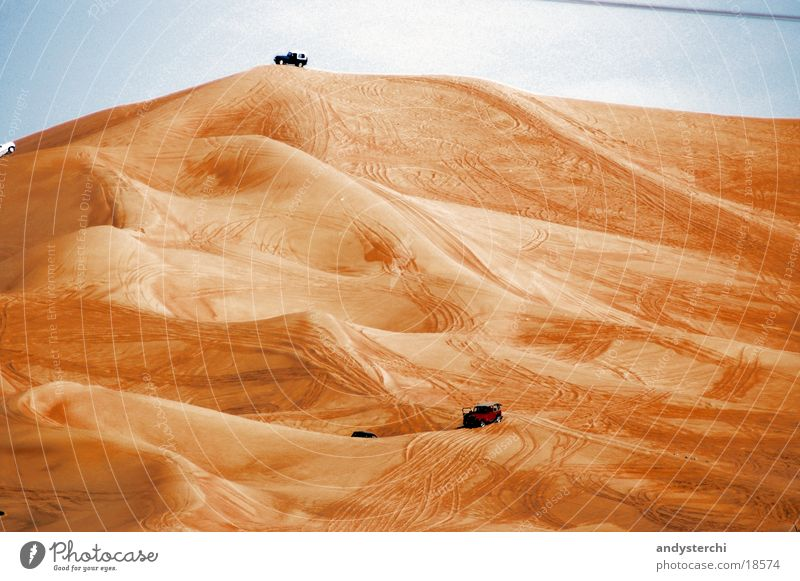 Sand Desert Beach dune Dubai Offroad vehicle United Arab Emirates
