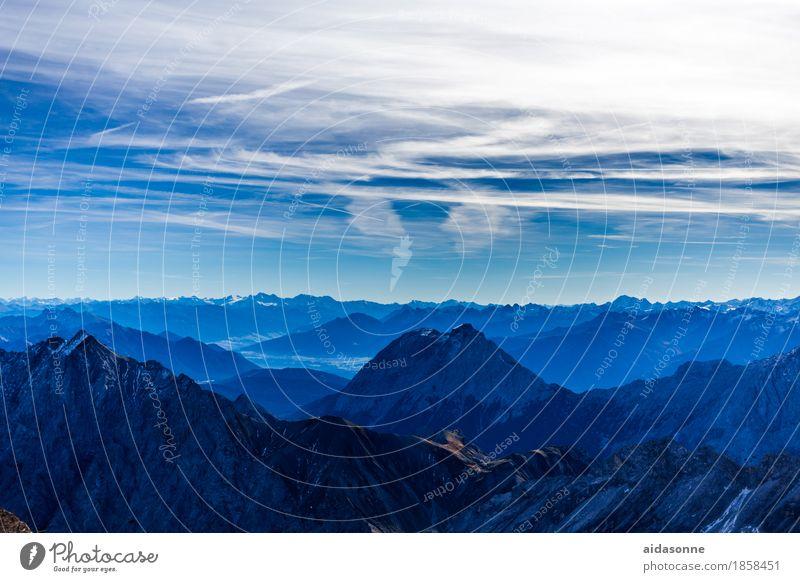 Nature Landscape Mountain Emotions Happy Moody Contentment Beautiful weather Peak Alps Snowcapped peak