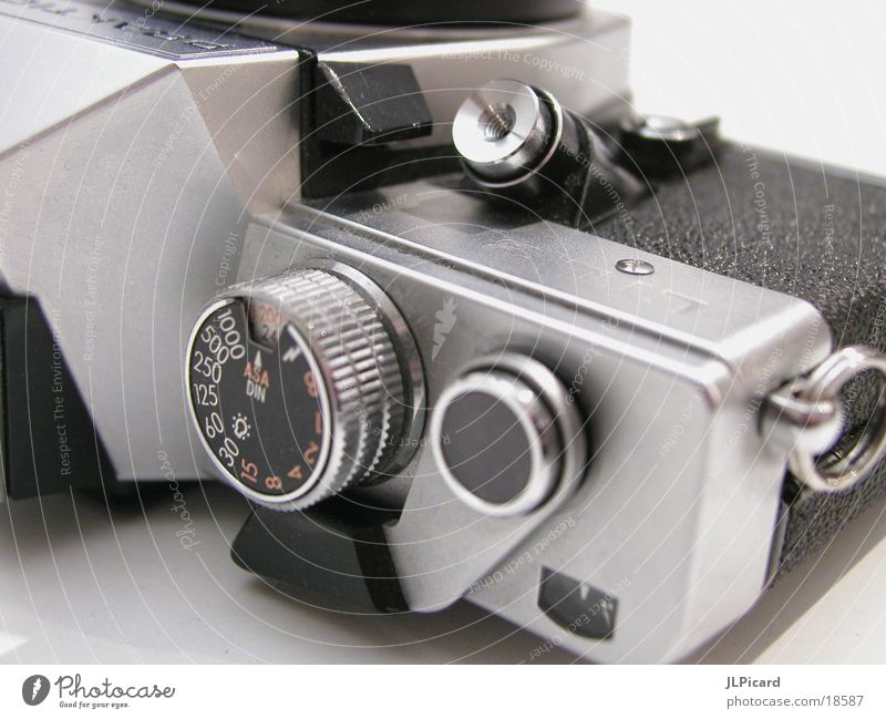 Analog Entertainment Camera Old Macro (Extreme close-up) Reflection Release