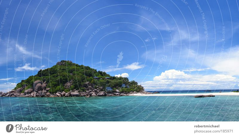 dream island Sky Beautiful weather Longing Wanderlust Nature Contentment Island Beach Dream landscape vacation Vacation & Travel holidays Thailand mountain