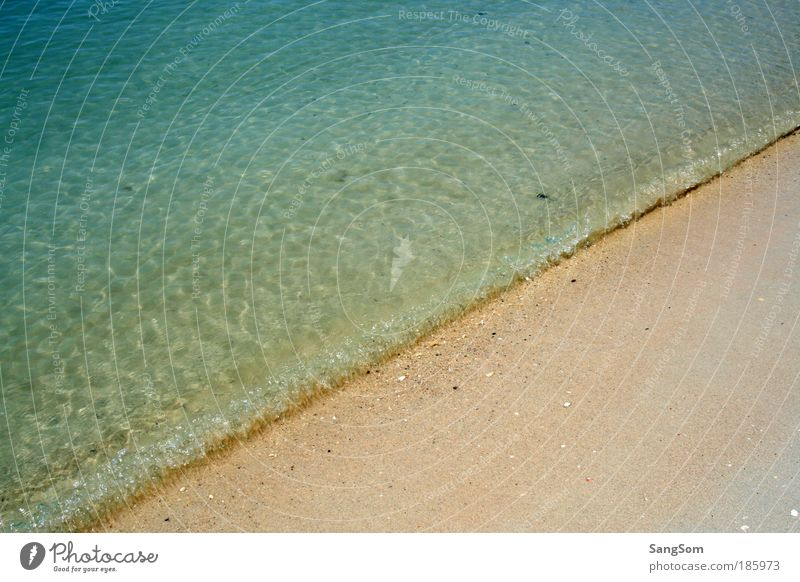 Happy birthday, Photocase! Nature Sand Water Summer Beautiful weather Warmth Waves Beach Ocean Relaxation Vacation & Travel Colour photo Exterior shot Deserted