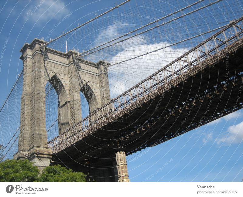 Sky Vacation & Travel Street Stone Landscape Metal Architecture Brooklyn Concrete Trip Bridge USA Tourism Steel Manmade structures