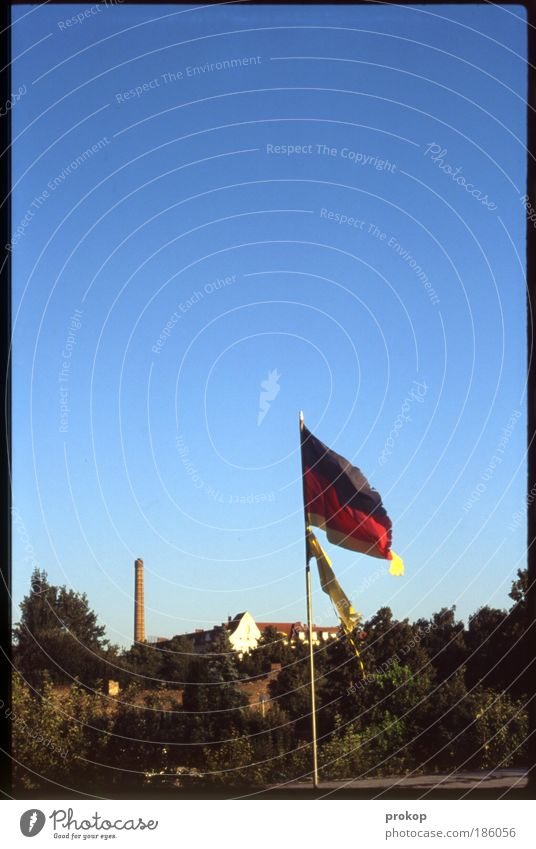 Sky Nature Old Tree Plant Summer Germany Wind Success Broken Tower Flag Factory Sign Beautiful weather Friendliness
