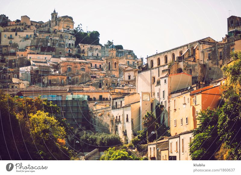 View of Ragusa, Sicily, Italy House (Residential Structure) Art Culture Village Town Church Building Architecture Facade Old Historic Religion and faith City