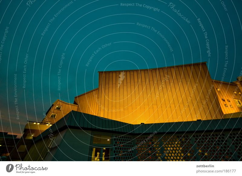 Dark Architecture Fear Lighting Perspective Hope Culture Creepy Concert Radiation Capital city Copy Space November Berlin Philharmonic Ancient civilization