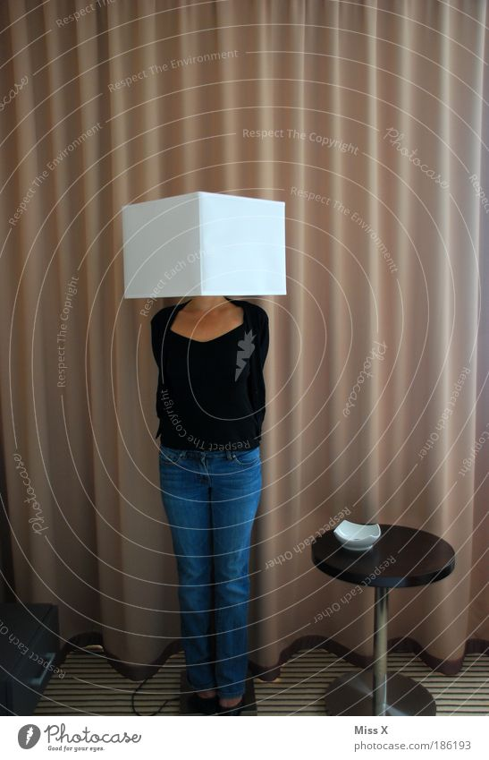 Miss X undercover Human being House (Residential Structure) Adults Feminine Legs Lamp Funny Body Flat (apartment) Interior design Crazy Lifestyle Illuminate