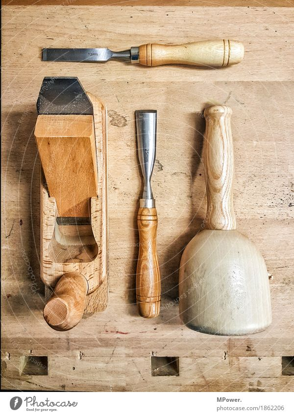 carpentry tool Hammer Technology Work and employment Wood Planer Workbench Joiners workshop Workshop Handcrafts Carpenter Broach Craftsperson Master Carve