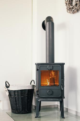 Old Warmth Energy industry Fire Burn Cozy Flame Basket Heating Stove & Oven Fireside Heating by stove Stovepipe Open fire