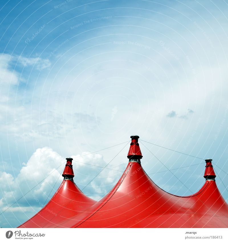 Sky Red Joy Clouds Relaxation Feasts & Celebrations Elegant Large Circus Trip Happiness Leisure and hobbies Point Event Fairs & Carnivals Beautiful weather