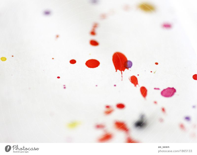 Colour White Red Joy Life Emotions Art Moody Design Leisure and hobbies Illuminate Fresh Esthetic Happiness Wet Paper