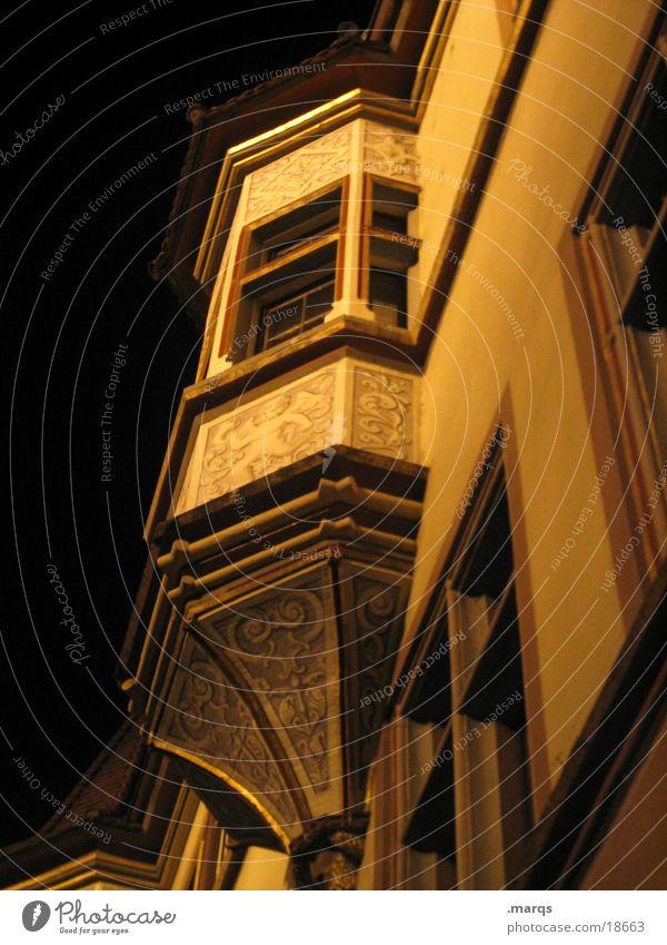 Old House (Residential Structure) Dark Corner Historic Oriel Ornate