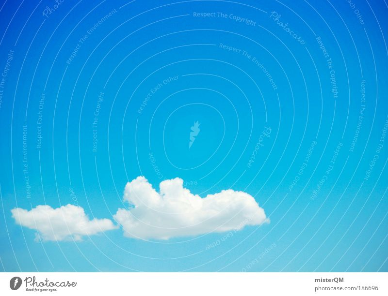Flying Away. Nature Sign Esthetic Vacation & Travel Tourism Airplane Clouds Cloud pattern Airplane takeoff Career Foreign countries Wanderlust Aviation Blue sky