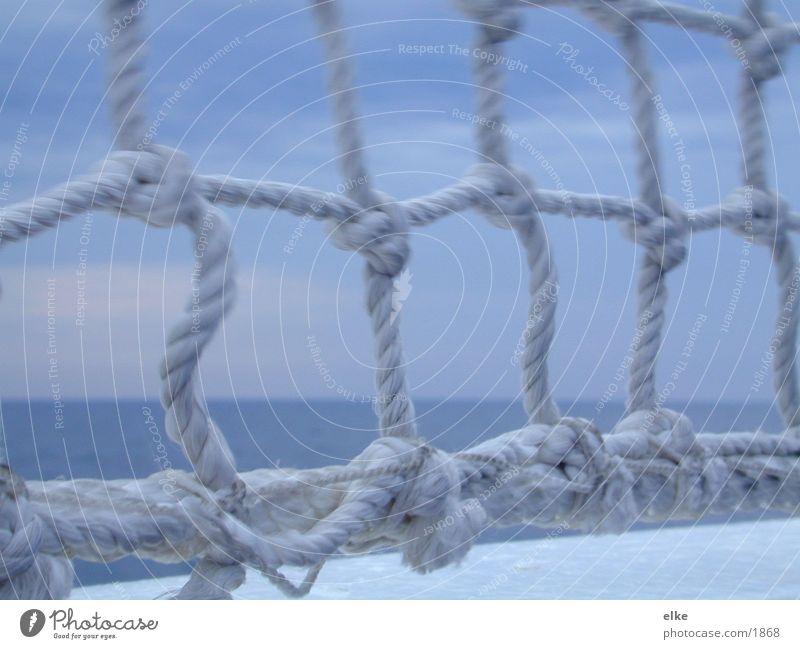 node Watercraft Ocean Navigation Knot Rope Vantage point Blue
