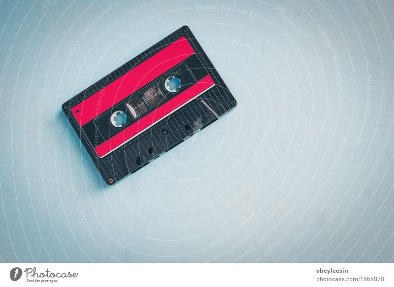 Retro cassette tape from the 80s House (Residential Structure) Lifestyle Style Party Design Adventure Night life