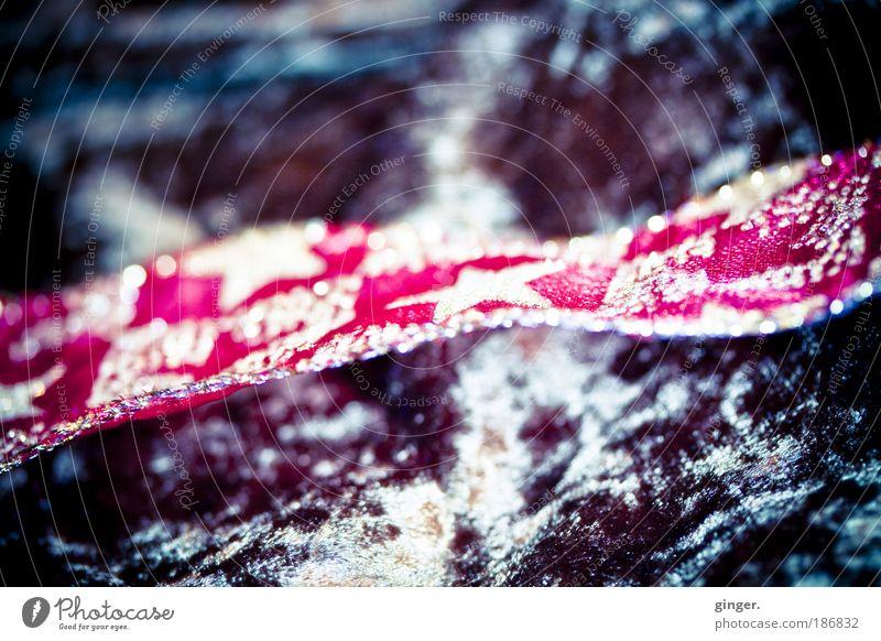 Velvet and specials String Illuminate Cloth Stars glittering splendour rhinestones structure Packaging pack Velvety Easy Brown Red golden Flow reflect Embellish