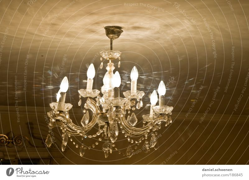 the lamp on Glass Crystal Elegant Thrifty Change Luxury Living or residing Candlestick Chandelier Lamp Festive Light Shadow Reflection